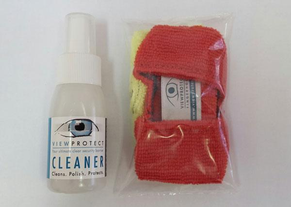 transparent burglar bars cleaner