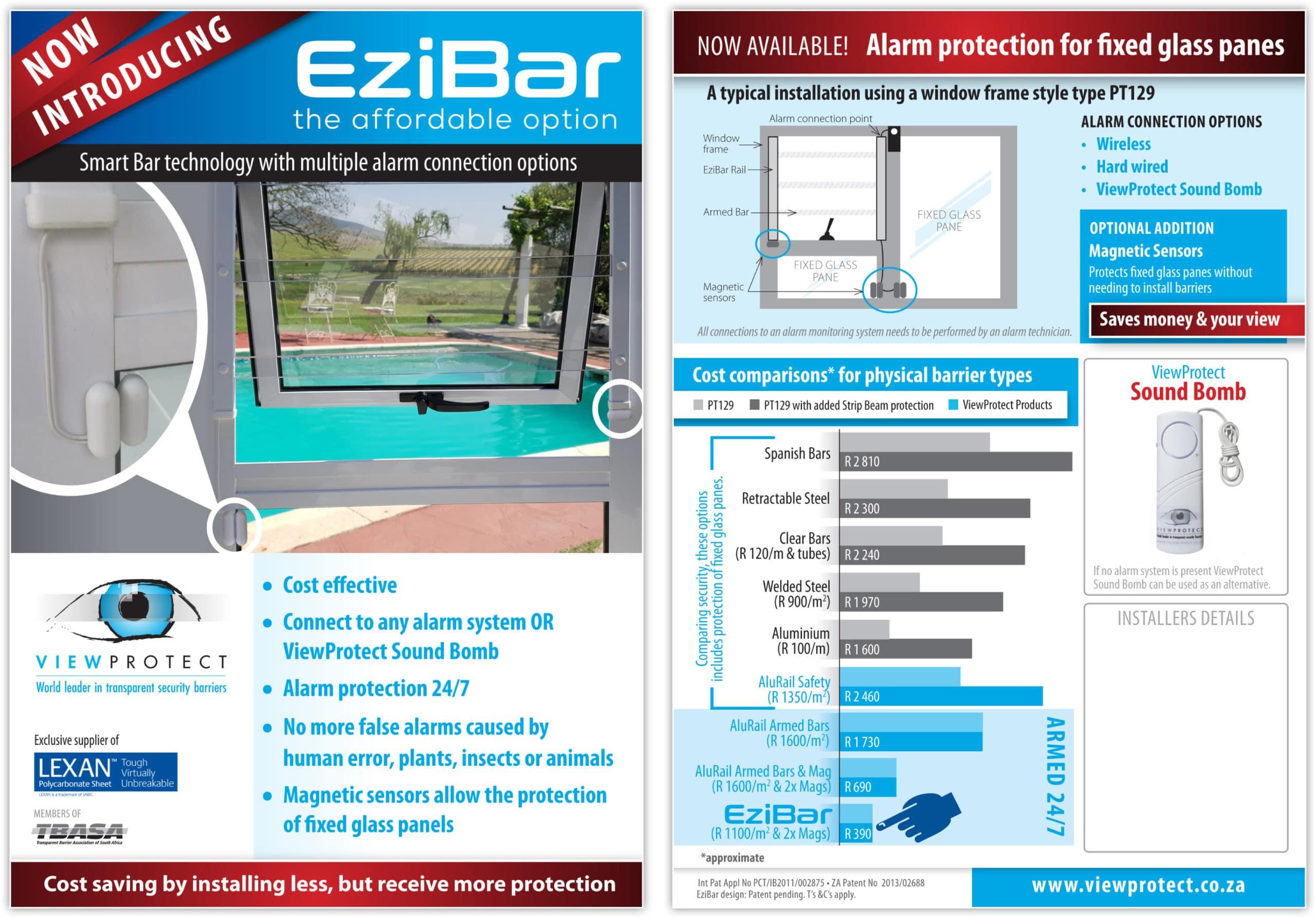 ezibar flyer