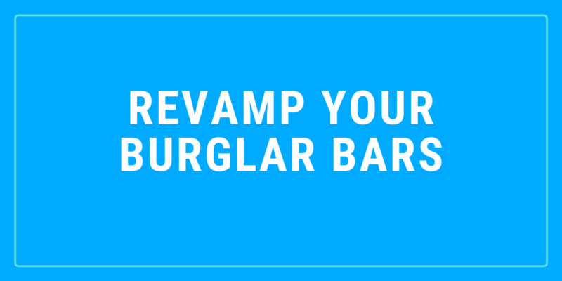 modern burglar bars